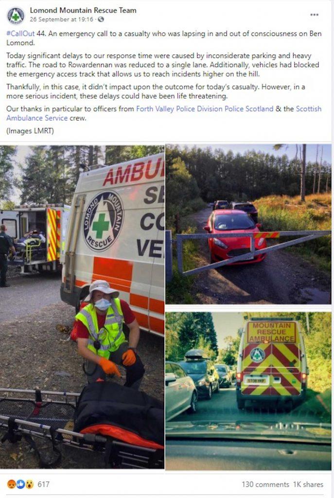 Emergency teams vans-Scottish News