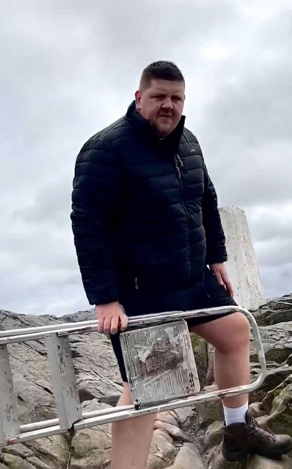 Dave Swan step ladder