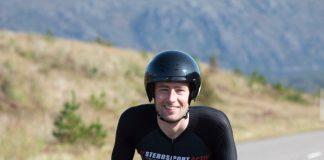 Josh Quigley on bike