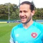 Peter Haring is on the comeback trail at Tynecastle   Hearts news