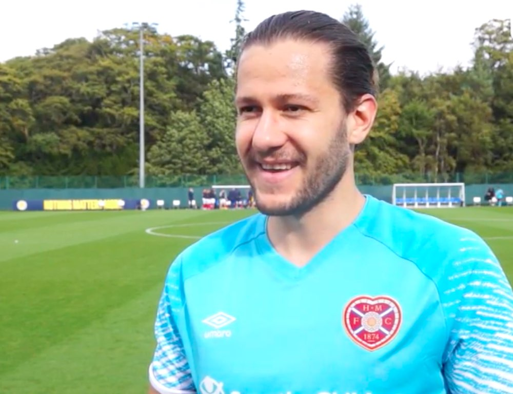 Peter Haring is on the comeback trail at Tynecastle | Hearts news