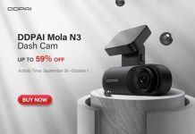 DDPai Mola N3 Dash Cam