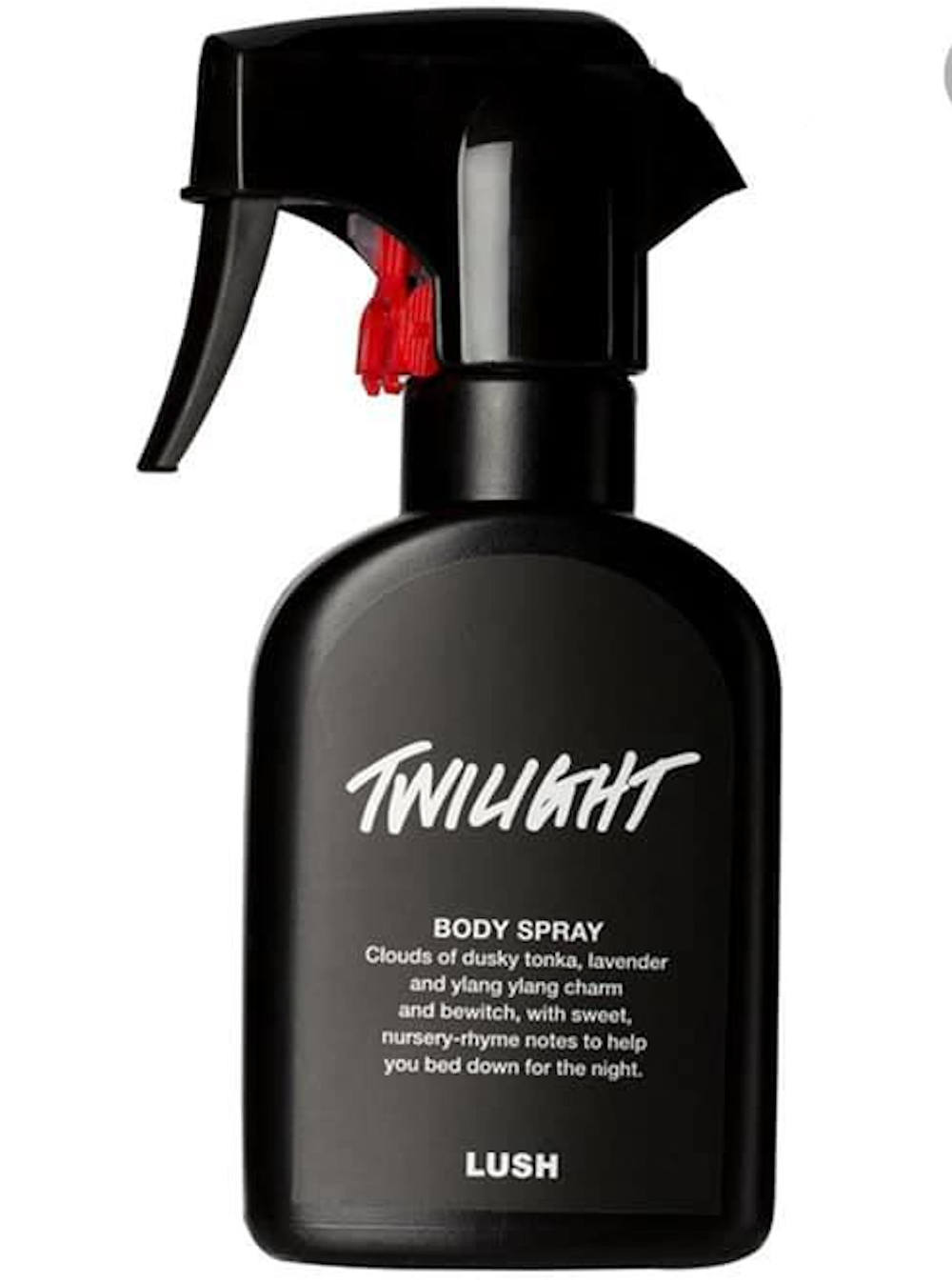 Lush body spray