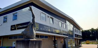 The facade of the Tony Macaroni Arena | Livingston news