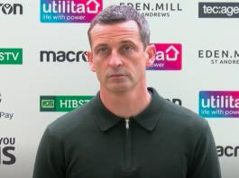 Hibs head coach Jack Ross | Hibs news