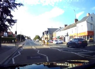 Reckless driver