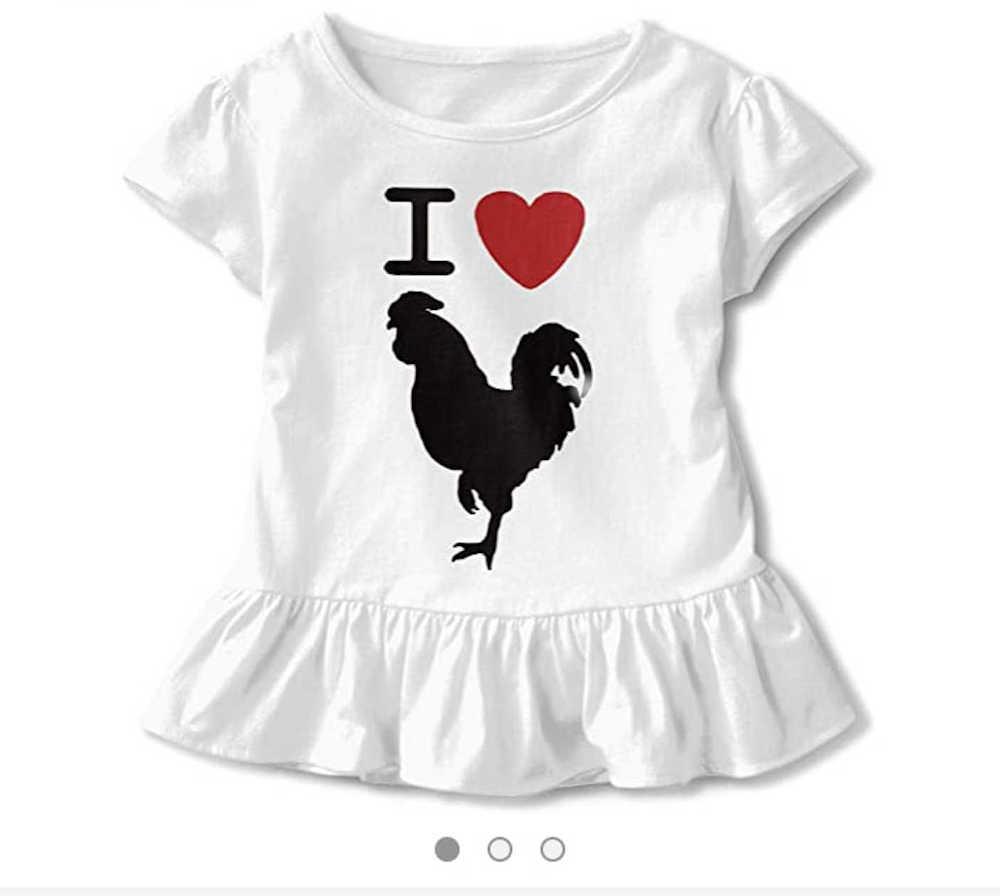 Girls T-shirt offensive
