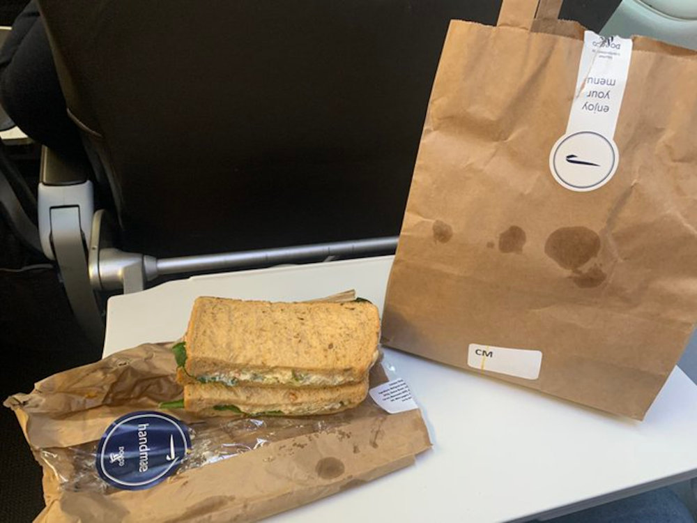 Sandwich and bag