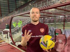 Craig Wighton celebrates his first Jambos hat-trick   Hearts news