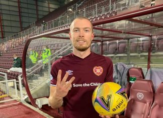 Craig Wighton celebrates his first Jambos hat-trick | Hearts news