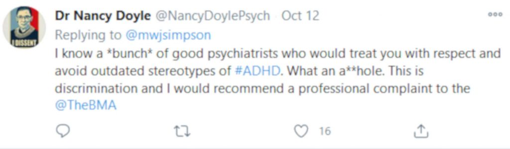 Doctors slam psychiartist stating he is too intelligent toDoctors slam psychiatrist stating he is too intelligent to have ADHD have ADHD