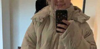 Erin Gillogley wearing the puffy jacket