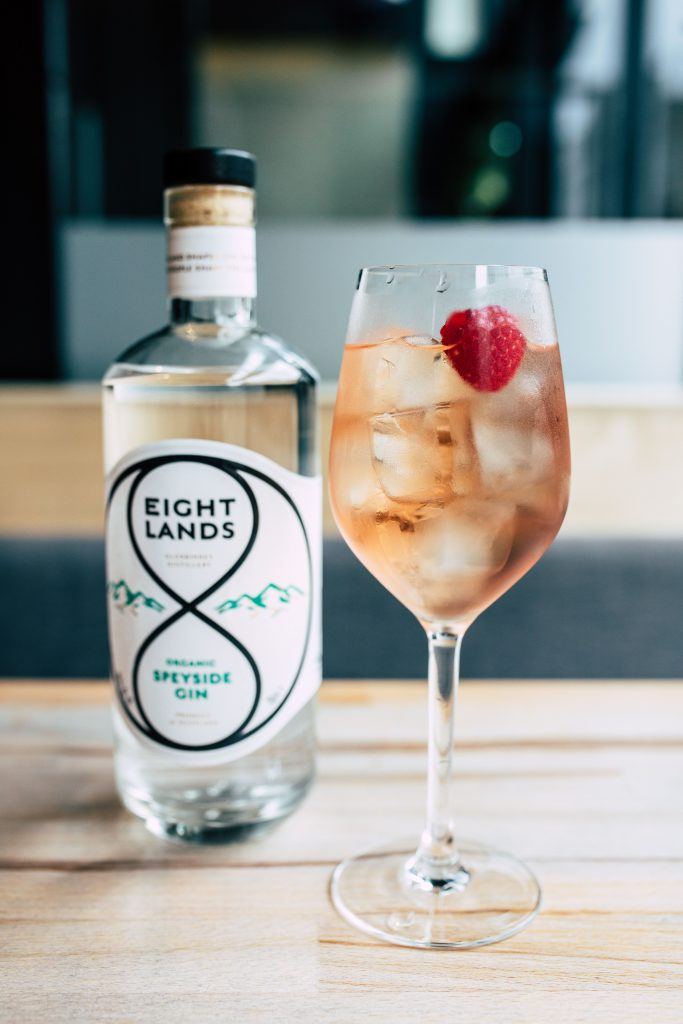 Eight Lands spirits will be delivered to homes across the UK by Drinks Drop