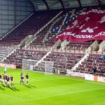 Hearts celebrate their third goal against Dundee   Hearts news