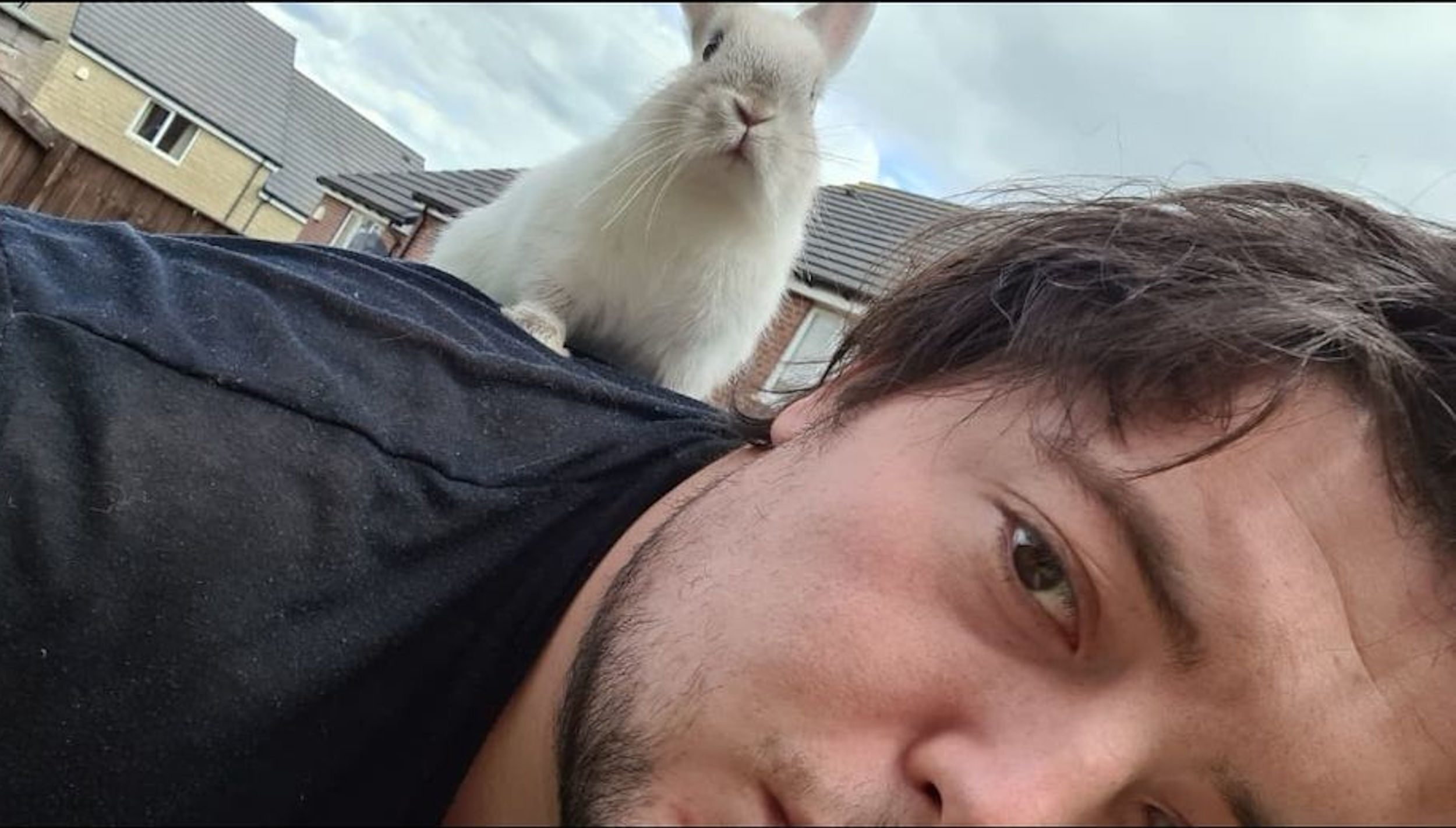 A picture of a man and a rabbit - Consumer News UK
