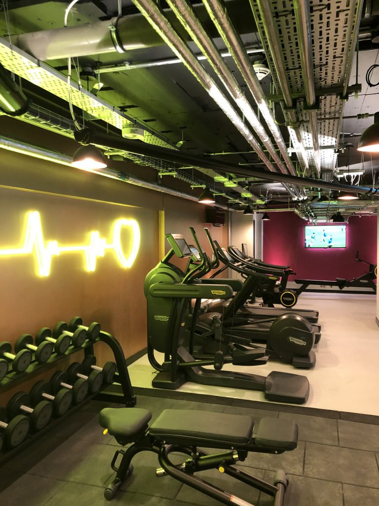 Ten Hill PLace Hotel gym