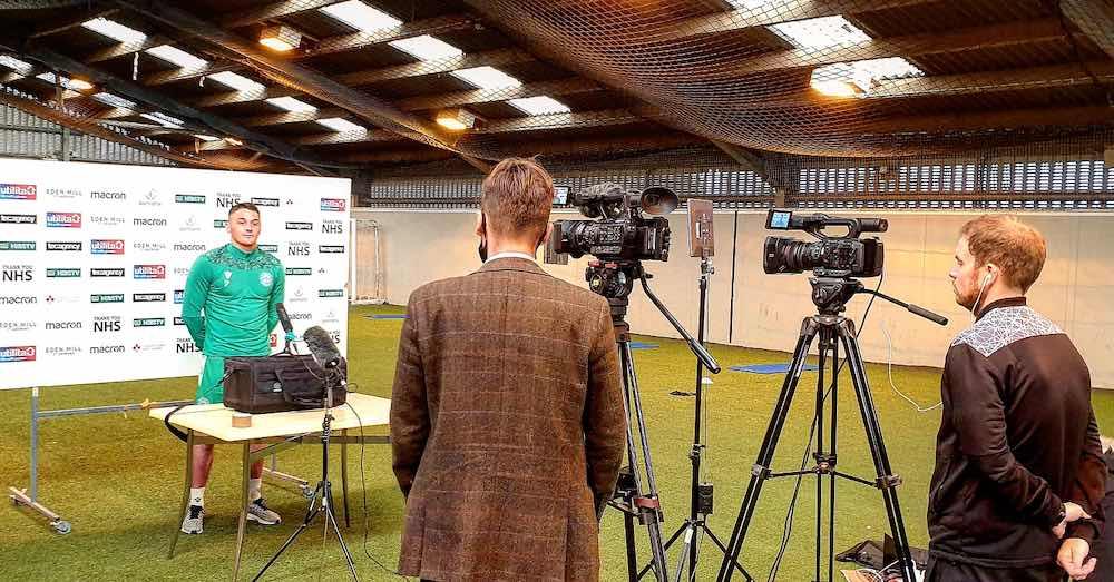Kyle Magennis meets the media | Hibs news