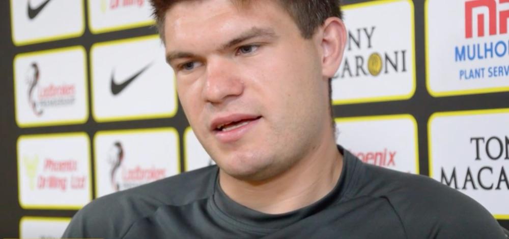 Livingston's Polish goalkeeper Max Stryjek   Livingston news