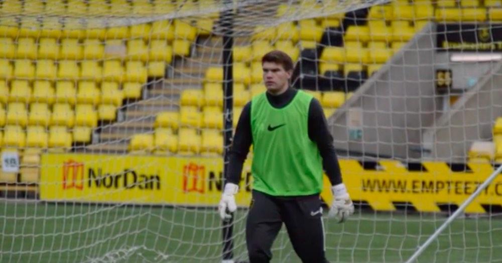 Livingston number two Max Stryjek, formerly of Sunderland   Livingston news