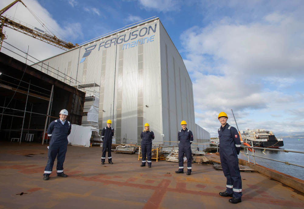Port Ferguson apprentices