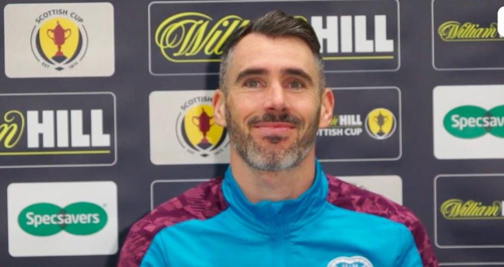 Northern Ireland defender Michael Smith   Hearts news