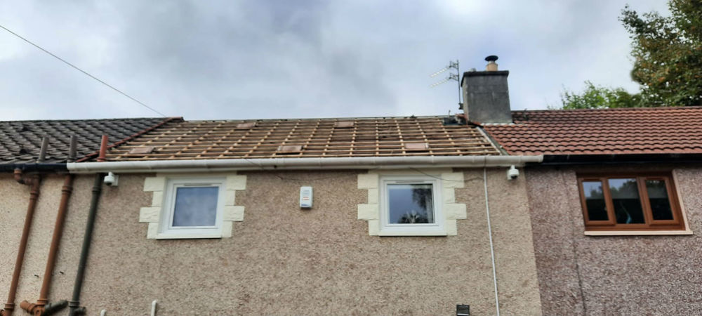 Roof with no tiles
