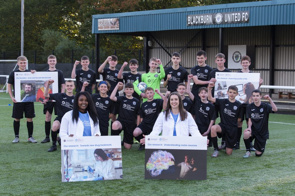 Blackburn United youth honour legacy of MND research champion's legacy