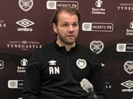 Hearts manager Robbie Neilson addresses the media   Hearts news