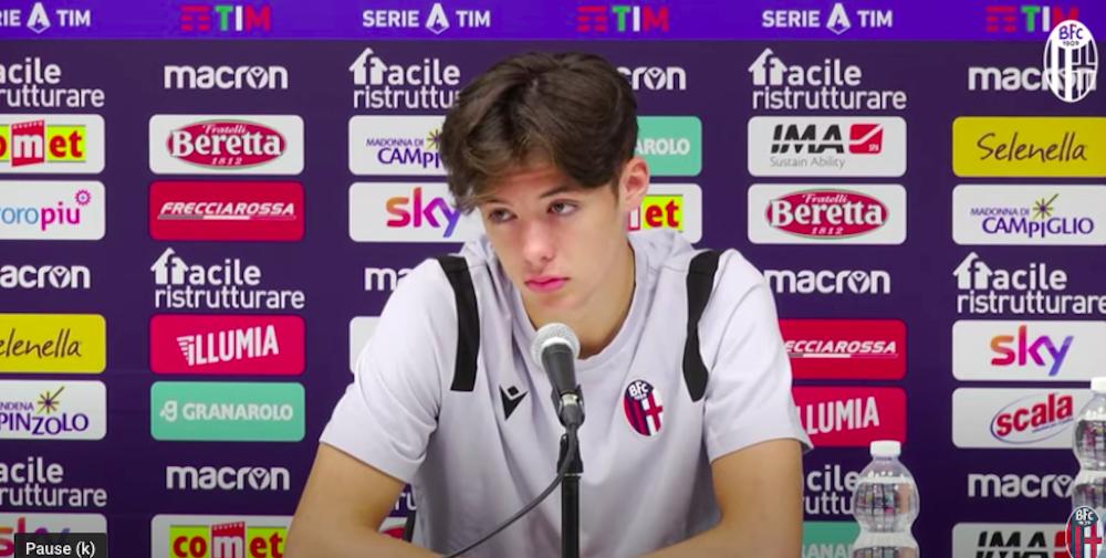 Aaron Hickey speaks to Italian media   Hearts news