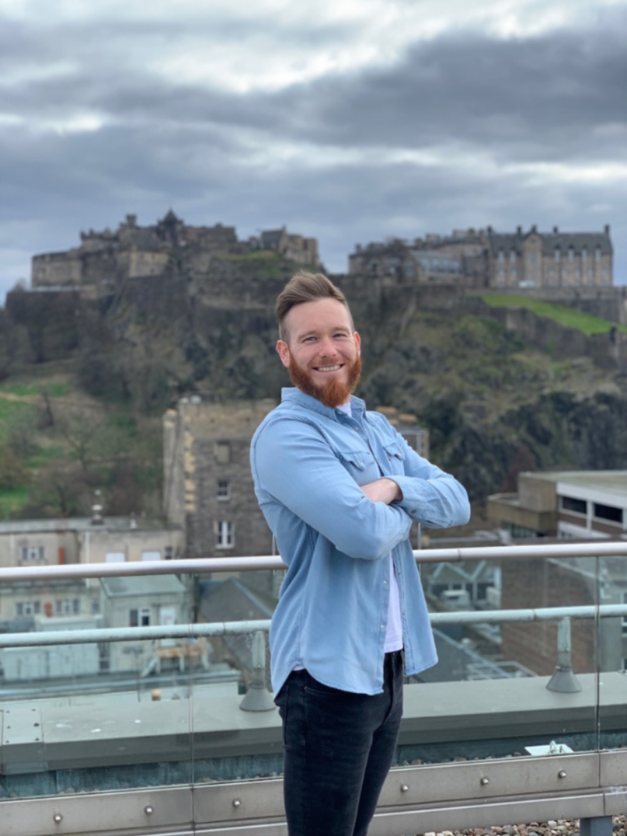 Founder of The Thriving Box Co, Robbie Allen- Business News Scotland