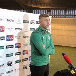 Hibs defender Ryan Porteous speaks to the media | Hibs news