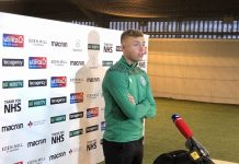 Hibs defender Ryan Porteous speaks to the media | Hibs news