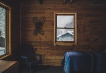 A picture of a chalet