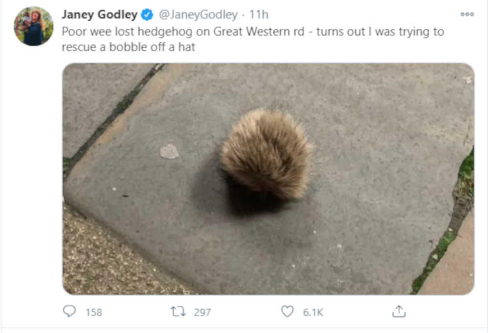 Janey Godley Twitter post