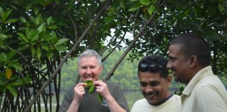 Professor Bill Austin in India