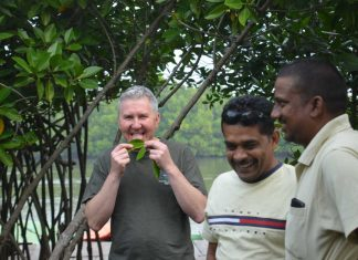 Professor Bill Austin in India