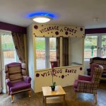 Vicarage Court Care home Visiting booth