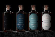 Four whisky bottles from 8 Doors distillery - Food and Drink News Scotland