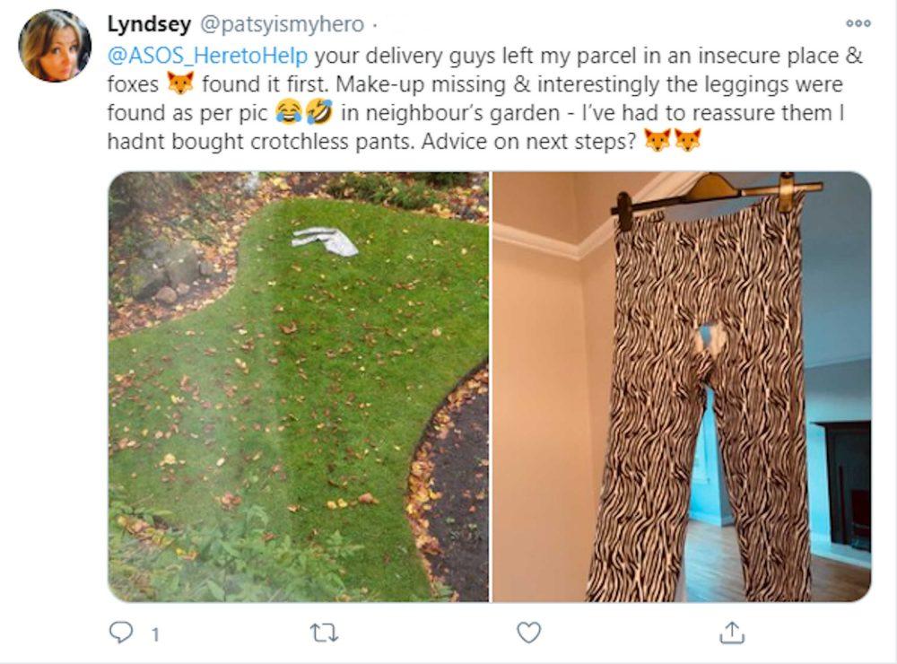 A social media post by Lyndsey