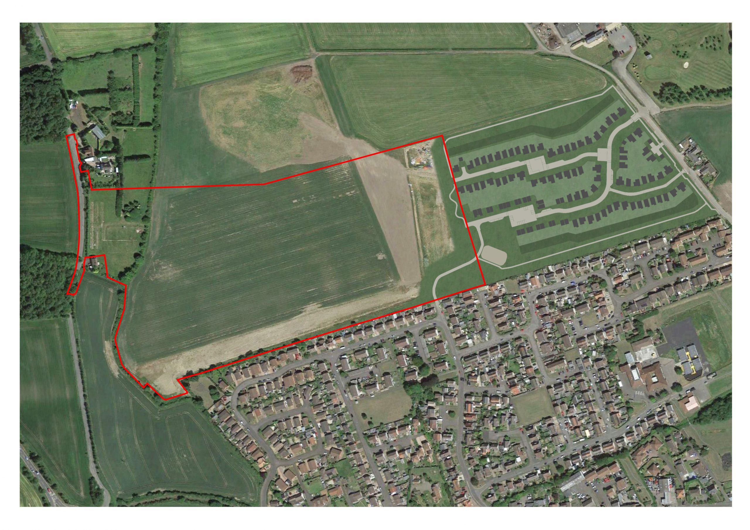Aerial view of plans for the development - Business News Scotland