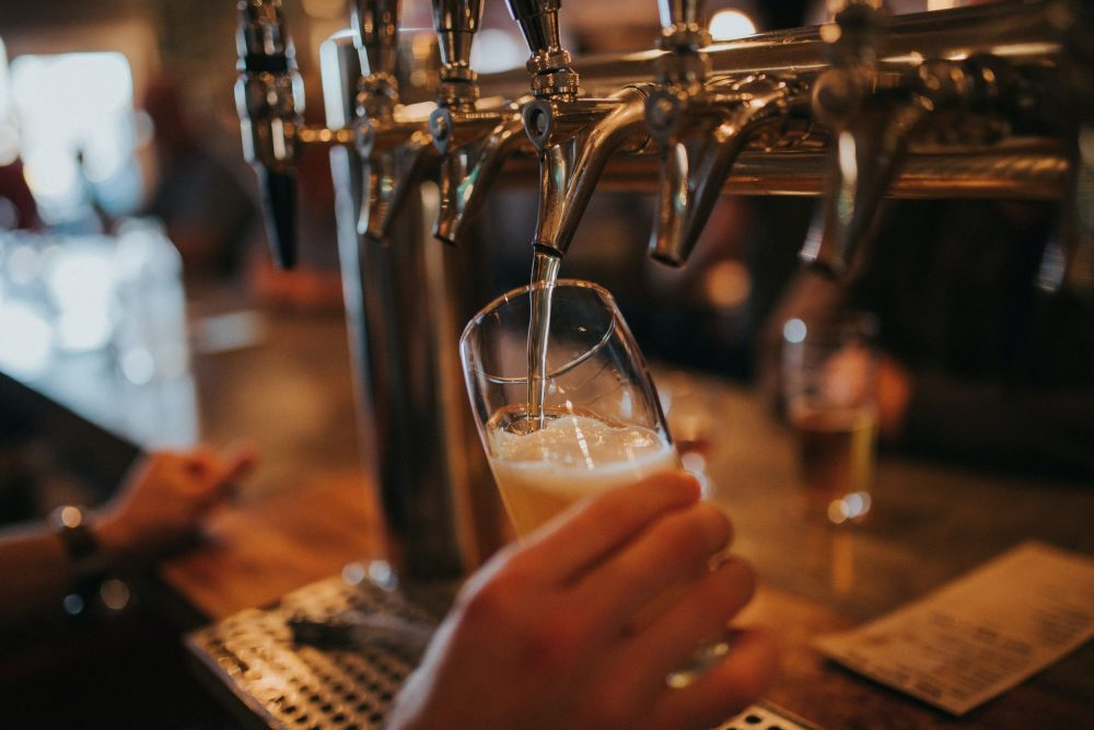 Picture of beer being poured - Business News Scotland