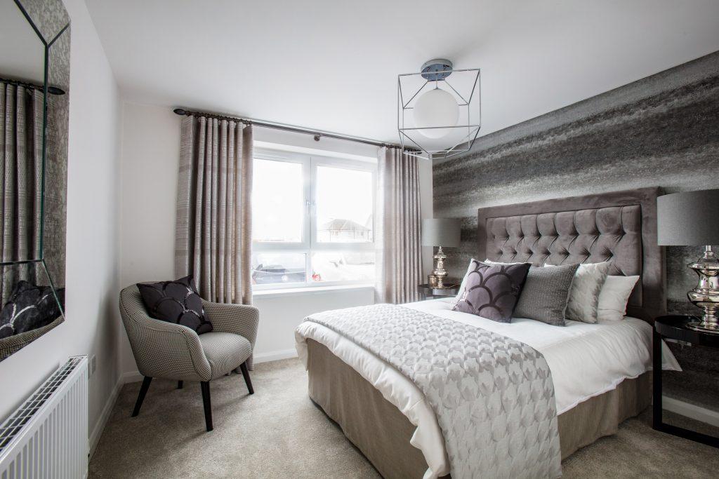 Calderwood Village apartment bedroom   Scottish Business News