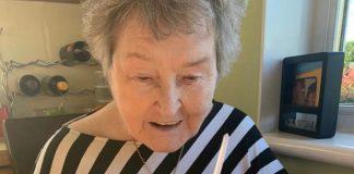 Cecilia Leishman with Mackie's Salted Caramel birthday cake | Community News