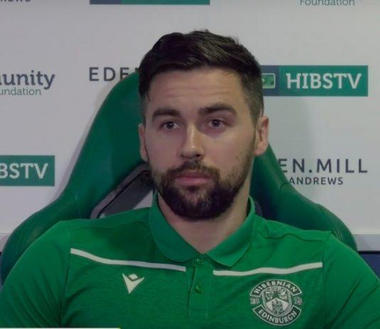 Darren McGregor, the Hibs defender   Hibs news