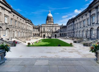 Edinburgh University Old College Quad quad, after refurbishment. - Business News Scotland