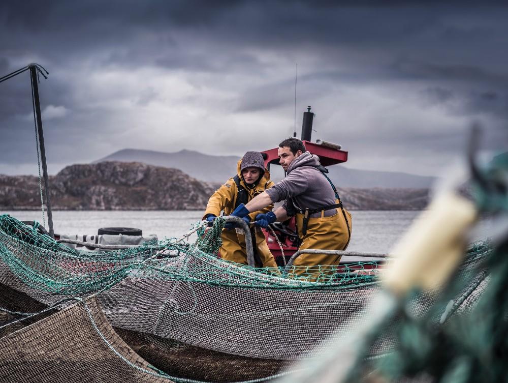 Loch Duart Team at work - Business News Scotland