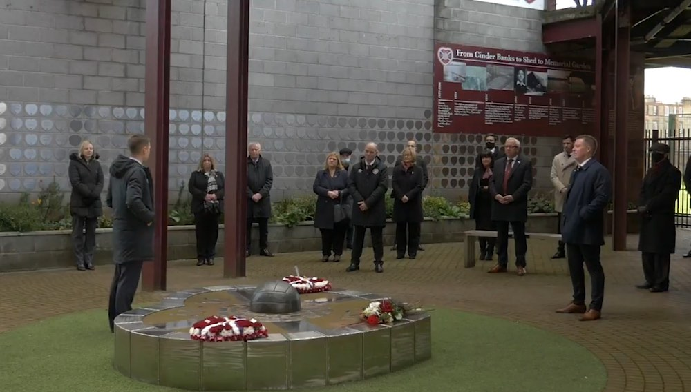 Hearts hosted a memorial service for Marius Zaliukas | Hearts news