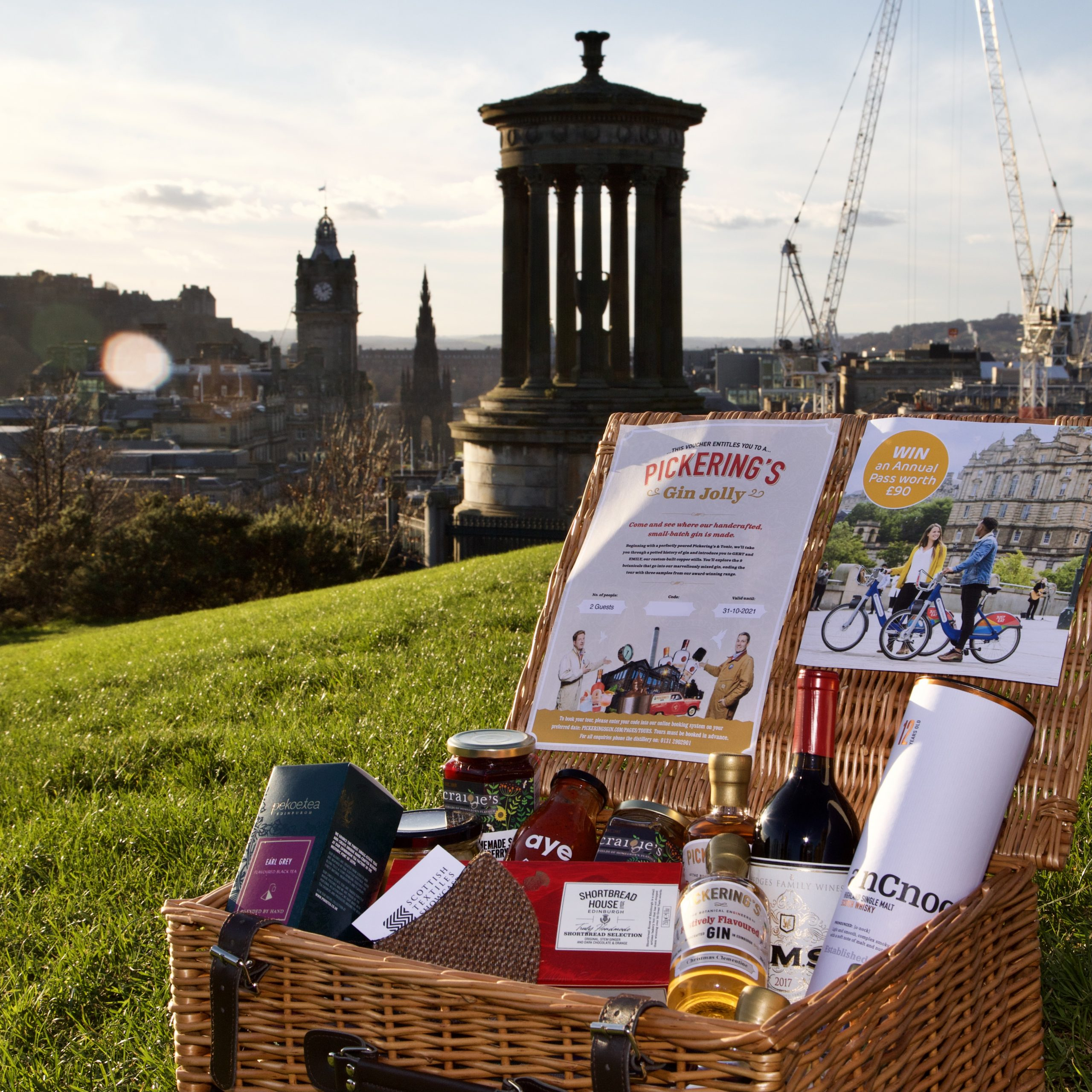 Hero Hamper for the shopherethisyear campaign - Business News Scotland