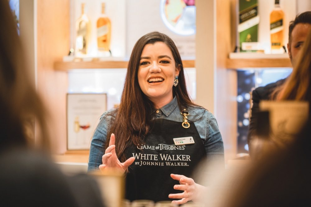 Diageo worker leading a workshop - Business News Scotland