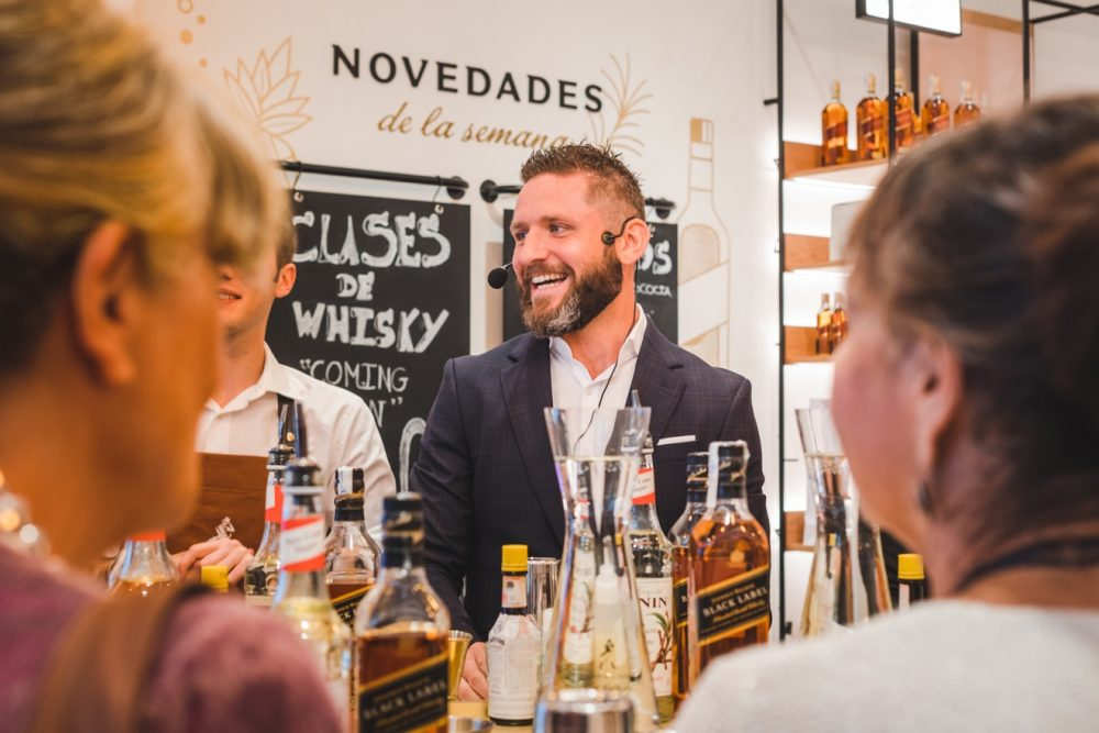 A Diageo worker leading a workshop - Business News Scotland